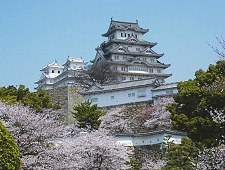 Japans unesco world heritage sites jtb travel himeji castle is the most beautiful and complete surviving example of a japanese feudal castle gumiabroncs Images